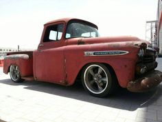 Chevy Apache Hot Rod