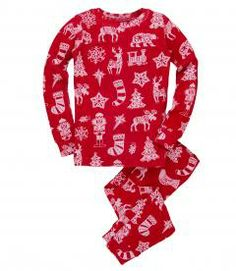 Cut Paper Kids' Overall Print Pajama Set Childrens Christmas, Christmas Pajamas, Christmas Sweaters, Christmas Outfits, Kids Christmas, Childrens Pyjamas, Kids Pjs, Girls Pajamas, Pajama Set