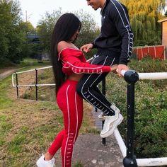Couple Goals Relationships, Relationship Goals Pictures, Couple Relationship, Matching Couple Outfits, Matching Couples, Black Couples Goals, Cute Couples Goals, Couples Assortis, Dope Couples