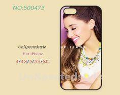 Ariana grande Phone Cases, iPhone 5/5S Case, iPhone 5C Case, iPhone 4/4S Case, Phone covers, ariana grande, Skins, Case for iPhone-400473