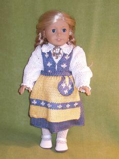 Swedish Costume Dolls Knitting pattern von knittingfordolls auf Etsy