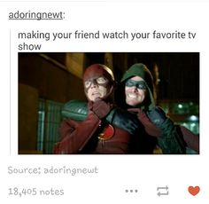 Can I just say I extra relate to this post because my favourite TV show is the flash-nadeen Rip Hunter, Dc Memes, Funny Memes, Hilarious, Funny Pics, The Flashpoint, Fangirl, Flash Funny, The Flash Grant Gustin