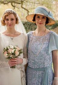 Edith's wedding    More Downton Abbey photos here:  http://mylusciouslife.com/historical-style-downton-abbey-photos/