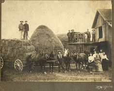 Large farms are almost unknown in Connecticut, and the average-sized farm, which is not far from a hundred acres, is decreasing with . Old West Photos, Old Time Photos, Old Pictures, Vintage Photographs, Vintage Photos, Farm Day, Matou, Vintage Farm, Old Farm