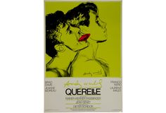 Original Andy Warhol screen-print movie poster on coated paper