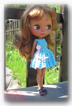 5 pieces of Blythe doll clothes    FREE Shipping by Shopdollwithowl on Etsy