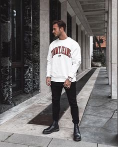 Style by @louisdarcis Yes or no? Follow @mensfashion_guide for dope fashion posts! #mensguides #mensfashion_guide