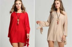 GroopDealz   Lucy's Casual Tunic - 2 Colors!