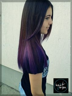 Purple love...  #hairstylist  #hair  #birgeskata  #purple  #color  #colorblock