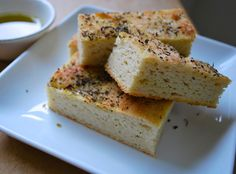 two parts sweet: Foccacia, Gluten Free