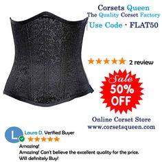 black corset, underbust corset, fashion corset, leather corset,