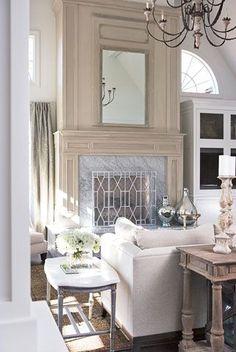 Interior Designer, interior design, architecture, Linda McDougal--raised fireplaceCLR
