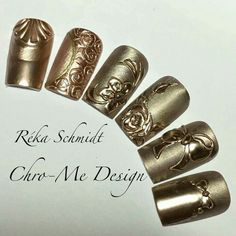 Chro-Me Design by Re'ka Schmidt with Crystal Nail Products