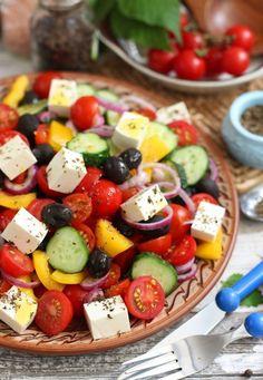Греческий салат – классический рецепт с фото – В РИТМІ ЖИТТЯ