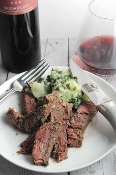 Sliced sirloin steak recipe food network pesto and sirloin roasted sirloin steak with red wine garlic sauce forumfinder Image collections