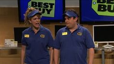 Two Best Buy employees are told they can't work on Black Friday so they take it out on their coworkers.
