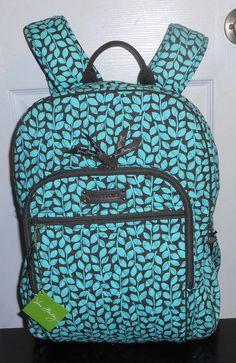 NWT VERA BRADLEY CAMPUS BACKPACK IN SHOWER VINES #VeraBradley #BackpackStyle