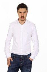 Versace 19.69 Abbigliamento Sportivo Srl mens long sleeve shirt Paris Jersey Bianco