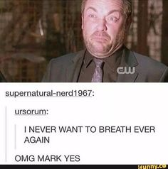 Supernatural Wallpaper, Supernatural Memes, Geek Crafts, Winchester Brothers, Crowley, Destiel, Superwholock, Best Shows Ever, Fandoms