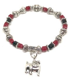 c8afd1e6 14 Best Mascot Jewelry images in 2019 | Bracelets, Stretch bracelets ...