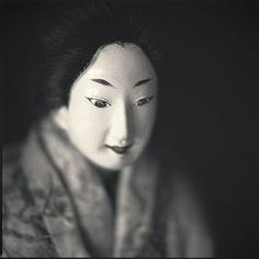 Japanese Bunraku doll: photography by Hiroshi Watanabe