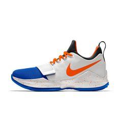 PG 1 iD Men's Basketball Shoe Paul George Shoes, Nike Shoes, Sneakers Nike, Nike Co, Men's Basketball, Custom Shoes, Nike Free, Clothes, Fashion