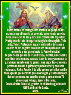Morning Prayer Quotes, Morning Prayers, Catholic Prayers In Spanish, Papa Francisco Frases, Personal Prayer, Catholic Religion, Beautiful Prayers, Biblical Verses, God Prayer