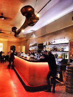 One of my favourite bars in #Prague - Roxy - Creative Space - www.urbankristy.com