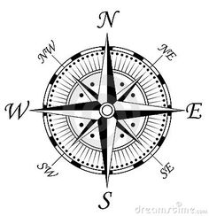 Royalty free clipart illustration of a compass face on a white background. This royalty-free cartoon styled clip art picture is available as a fine art print and poster. Clipart Compass Face 4 - Royalty Free Vector Illustration by Vector Tradition SM Maori Tattoos, New Tattoos, Tattoos For Guys, Cool Tattoos, Sextant Tattoo, Nautical Compass Tattoo, Compass Vector, Vintage Compass, Tattoo Templates