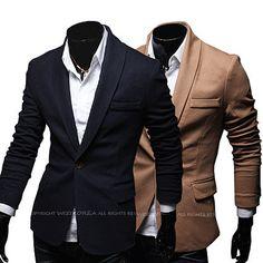 Shawl Collar Slim Fit One Button Men Blazer Blazers For Men, Motorcycle Jacket, Gentleman, Men Blazer, Suit Jacket, Slim, Mens Fashion, Fitness, Shawl
