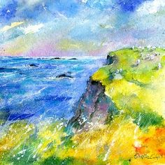 Towards Lizard Point - Quality Fine Art Print By Sheila Gill. | Greetings Cards | Prints | Gift Wrap
