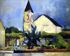 Arthur Beecher Carles (American, 1882–1952) The church 1908-1910