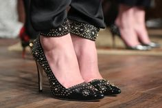 Studded shoes #fall2013 #NYFW
