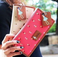 Korean Girls Ladies Sweet Rectangle Long Clutch Card Holder Purse Handbag Wallet #Unbranded #Clutch