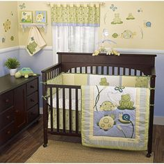 Pond themed baby nursery, too adorable!