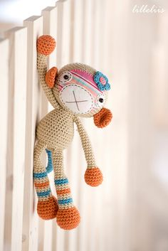 Ravelry: Monkey girl pattern by Mari-Liis Lille €4.75.