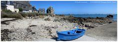 Village de pêcheurs à PLOUGRESCANT, Roche Jaune. | par claude.lacourarie