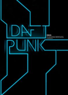 Daft Punk poster by RIZIGN http://rizign.deviantart.com/