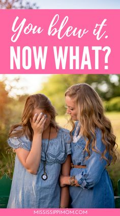 How to Handle Failure |  What to Do When You Blow It Big Time |  How to Come Back after Falling on Your Face | Parenting Mistakes Christian Women, Christian Living, Sisters In Christ, Soul Sisters, Bible Verses For Women, Now What, Walk By Faith, Christian Encouragement, Big Time