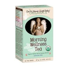 Organic Morning Wellness Tea Bags for morning sickness nausea relief