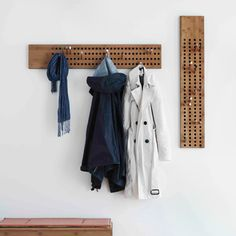 Coat rack by We Do Wood (Danish duo Henrik Thygesen and Sebastian Jørgensen)