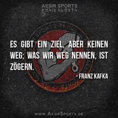 Taten, statt leere Worte. - Aesir Sports & www.AesirSports.de