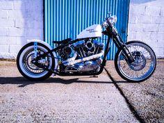 Harley-Davidson 'Speedster' Sportster Rigid Springer Bobber.