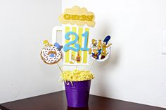 The Simpsons centerpieces visit my shop at CraftingRus.etsy.com.