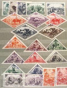 ZSRR - Tuva (poczta lokalna Płn. Mongolii) 76-97