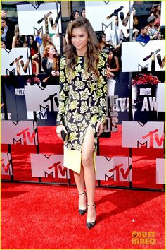 Zendaya at the MTV Movie Awards April 13,2014