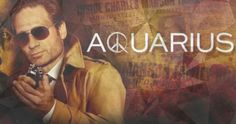 Aquarius (NBC-May 28, 2015) Season 1 Premiere, a TV series drama. Stars: David Duchovny, Grey Damon, Gethin Anthony, Grey Damon, Emma Dumont, Claire Holt, Chance Kelly, and 7 recurring actors. Sam Hodiak is helped in a missing persons case by undercover officer Brian Shafe who behaves like a hippie, fits in with the people being questioned. Unknown to them, their investigation will lead them to Charles Manson. David Duchovny executive produces this series.