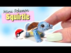 How To Miniature Squirtle Tutorial // DIY Pokemon - YouTube
