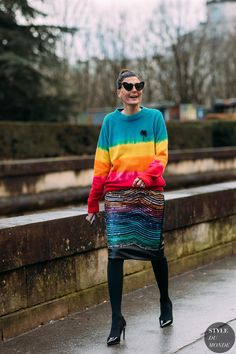 Giovanna Battaglia Engelbert by STYLEDUMONDE Street Style Fashion Photography FW18 20180304_48A3867