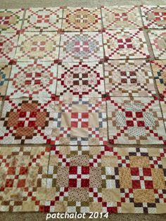 AQP quilt along burgoyne Surrou nded block - Patchalot More